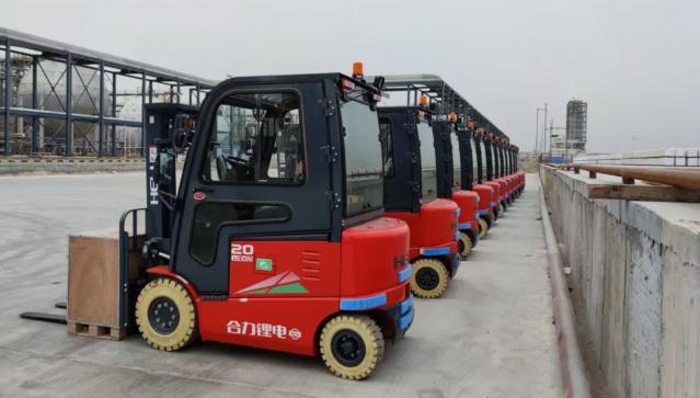 合力锂电叉车在能源化工行业的典型应用